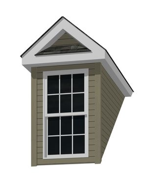Roofs Dormers Dormers Roof Square Windows