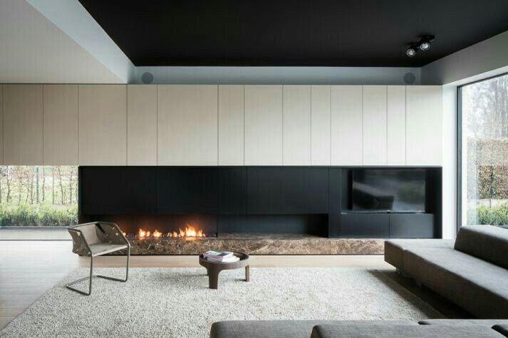 Fireplace Design、Living Room