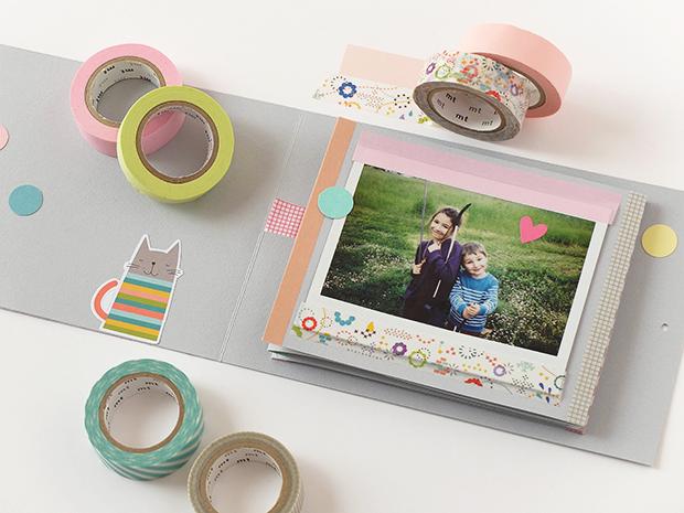 Bluebells Design - Mini photo album