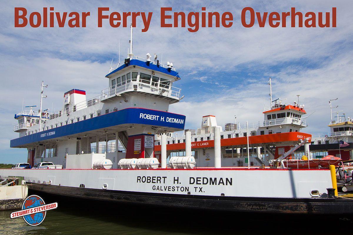We recently completed major engine overhauls aboard the