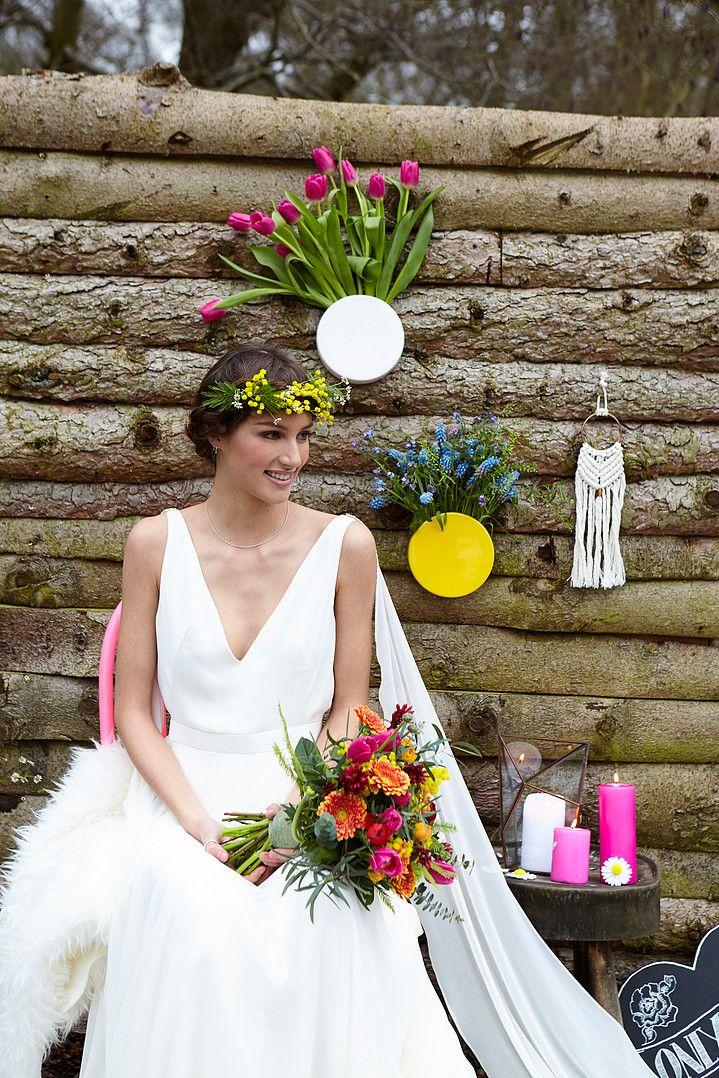 Simple colourful wedding decoration with candles flowers and vases simple colourful wedding decoration with candles flowers and vases kook events yorkshire wedding junglespirit Choice Image