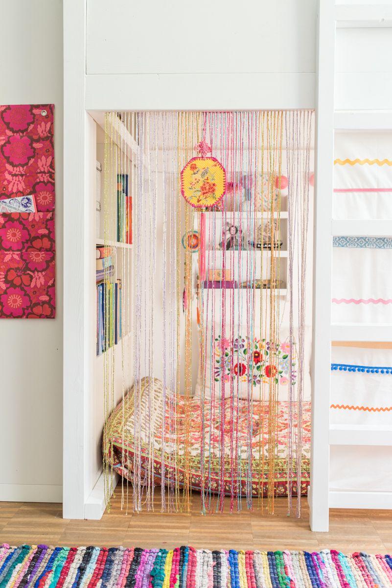 Amazing Ein Selbst Gebautes Hochbett Im Kinderzimmer