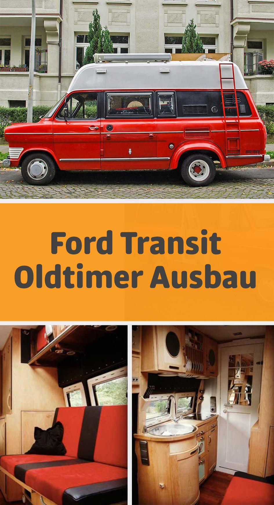Ford Transit Oldtimer Oldtimer Wohnmobil Kastenwagen Camper
