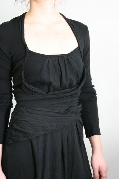 Prairie Underground Blouse--love this neckline