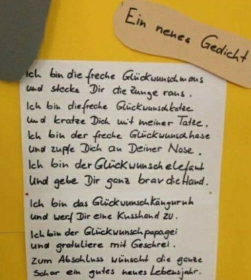 Gluckwunsch Gedicht Geburtstag Gedicht Geburtstagslieder Und