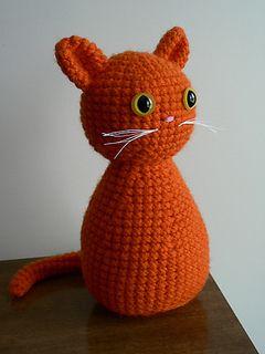 Simple Free Crochet Cat Pattern in 2020   Crochet cat pattern ...   320x240