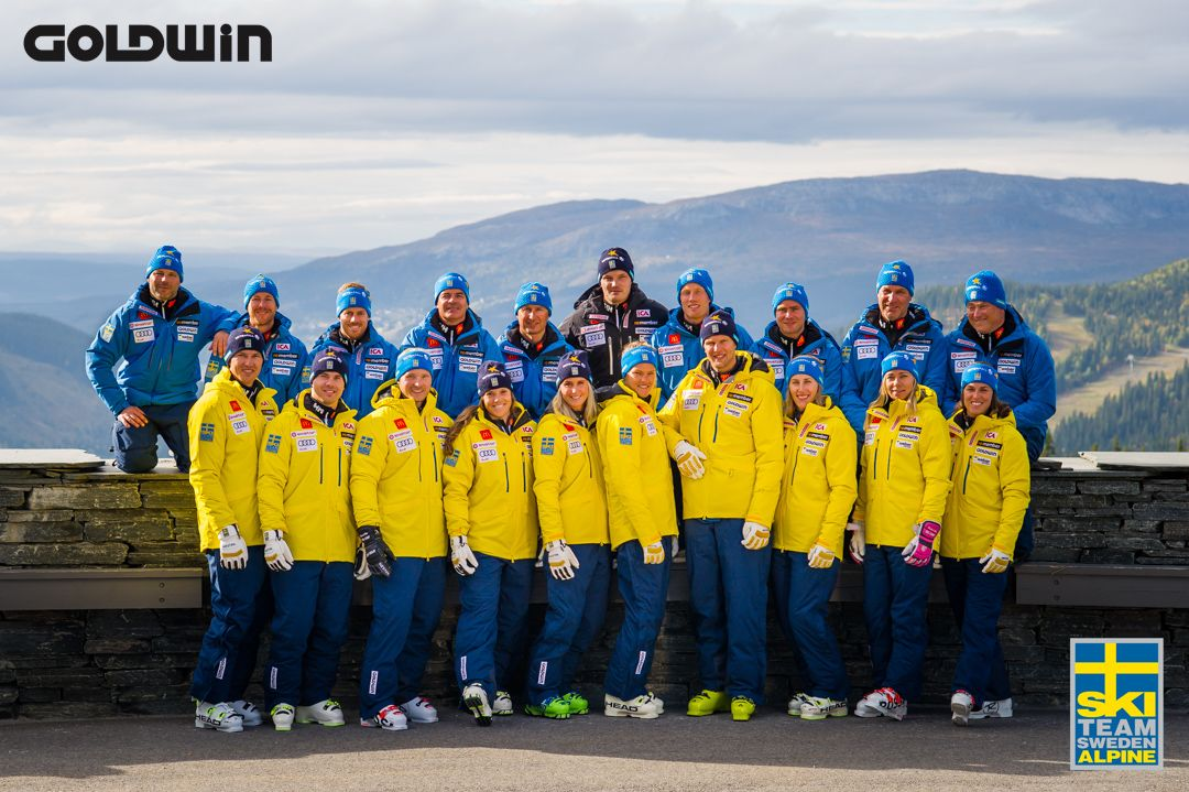 The Swedish Ski Team by Goldwin Sports.  d3f48ebe170b7