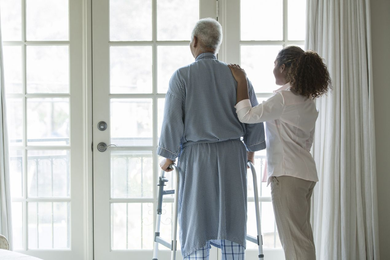 Frail Seniors Find Ways To Live Independently Kaiser