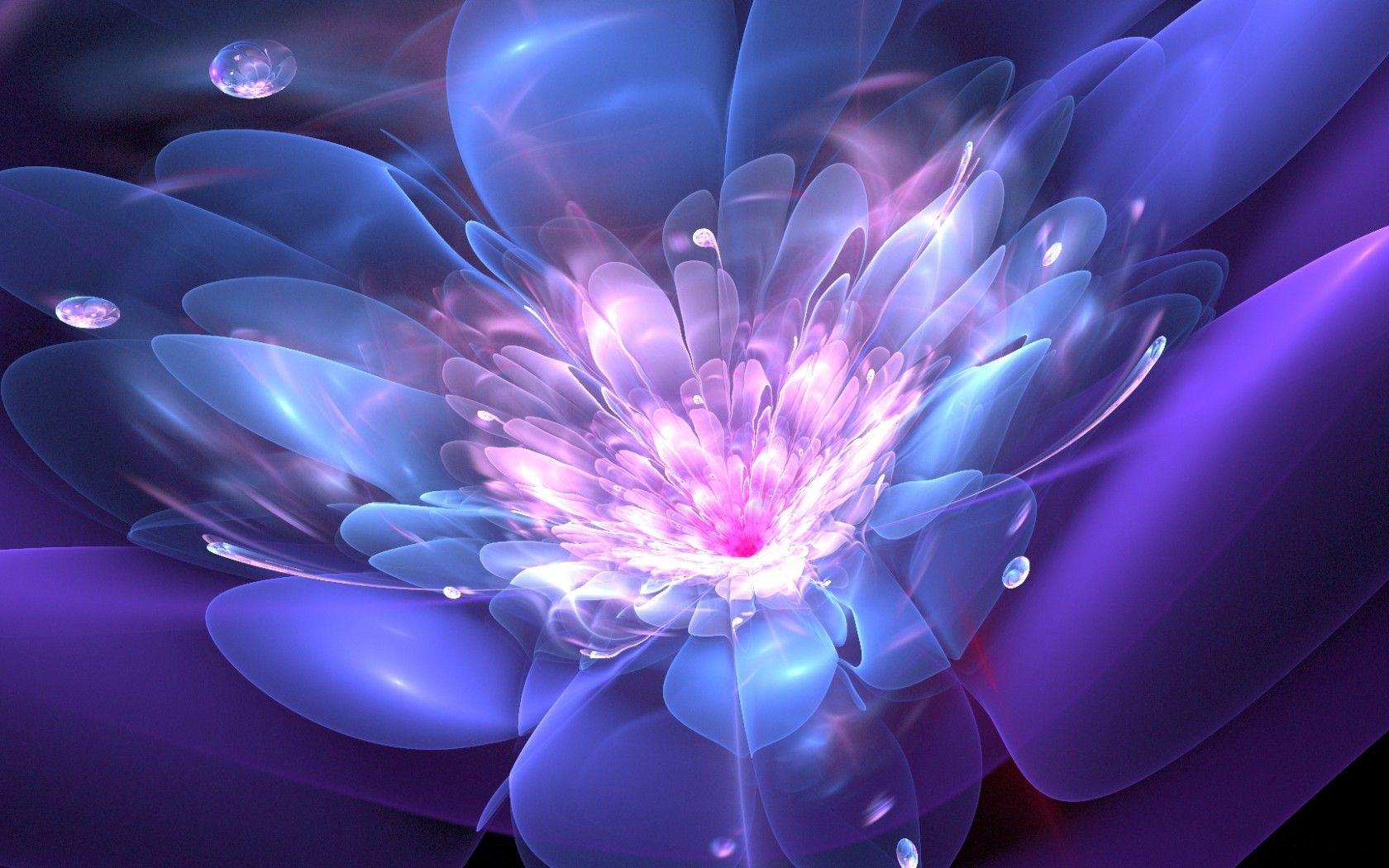 Обои цветок, абстракция. Абстракции foto 9