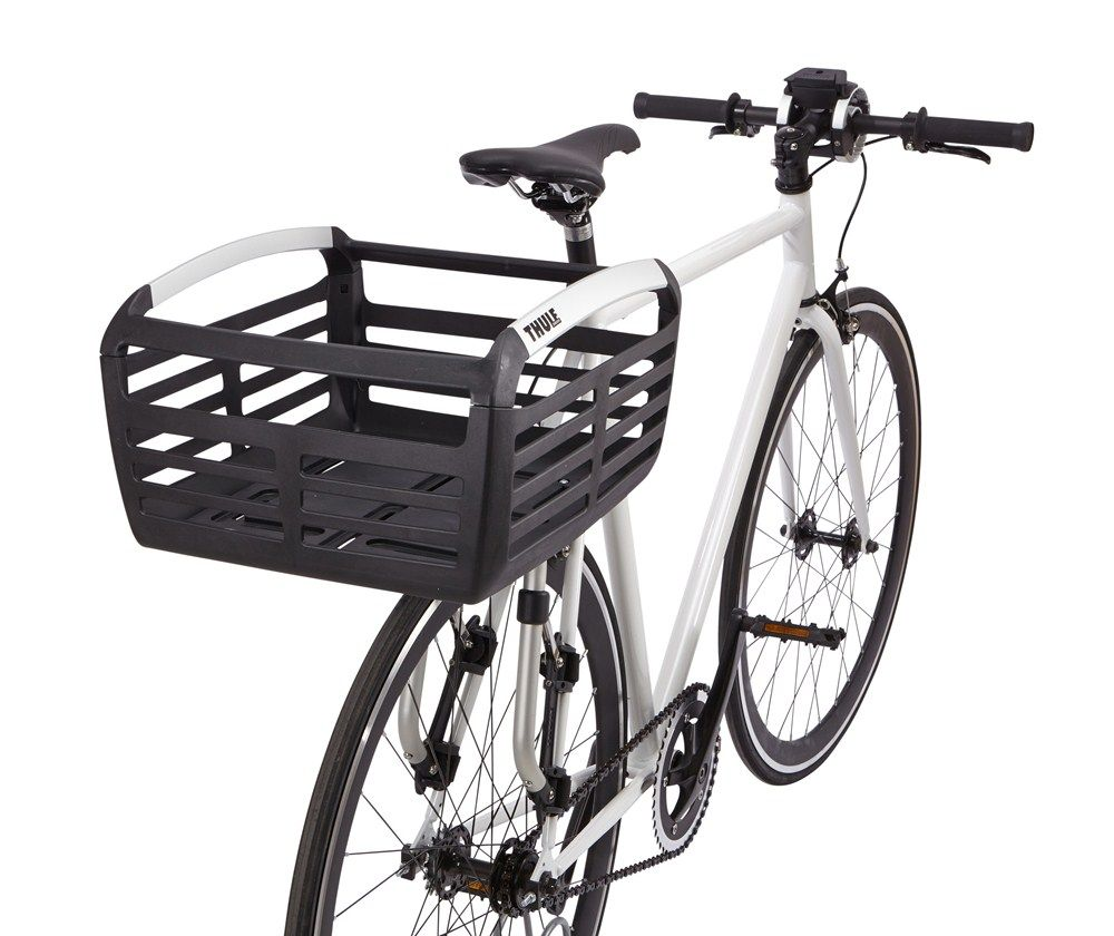 Thule Pack n Pedal Basket for Bike Racks 33 lbs Black