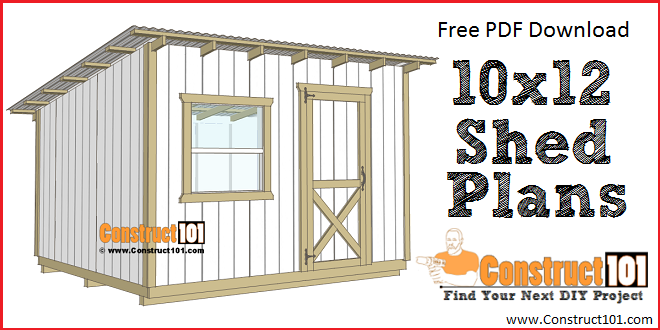 Simple Workbench Plans Construct101