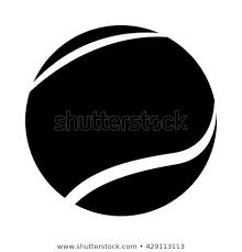 Image Result For Tennis Ball Black And White Tennis Ball Black And White Black