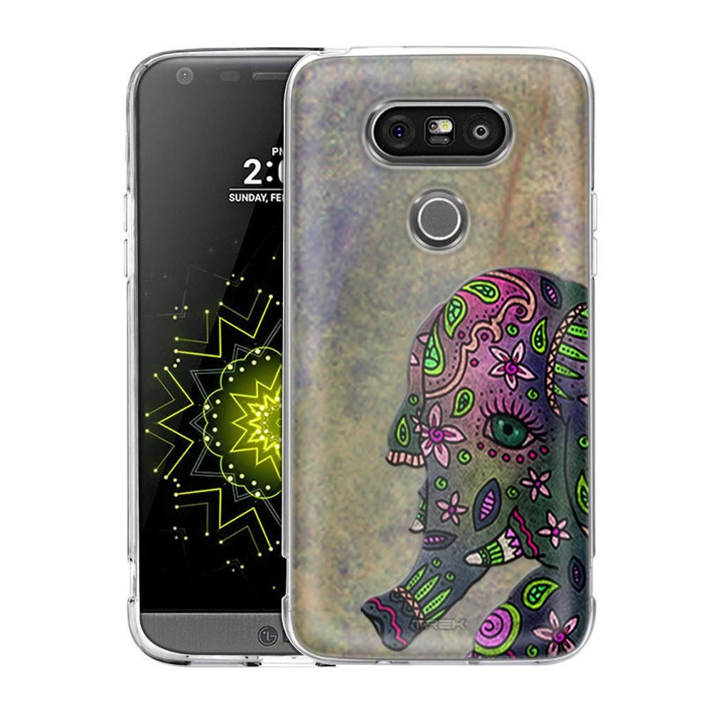3e86cfd0f46b2 LG G5 Paisley Elephant Slim Case