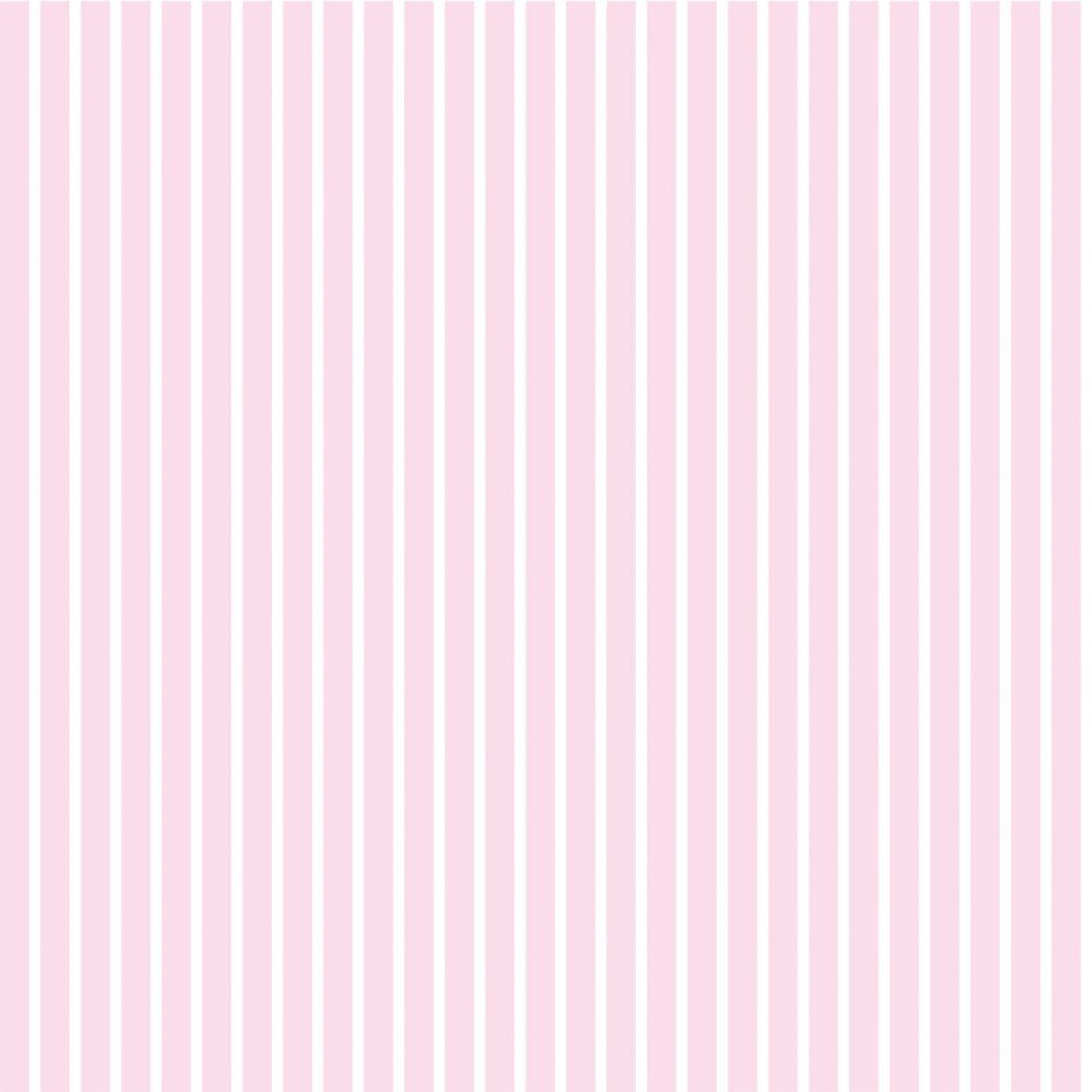 Bubblegum Stripe Wallpaper Pink / White (01429BUBG) Pink
