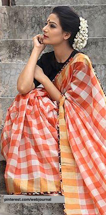 b4266be8e72 Handloom sarees from theloom.in | Saree | Saree photoshoot, Handloom ...