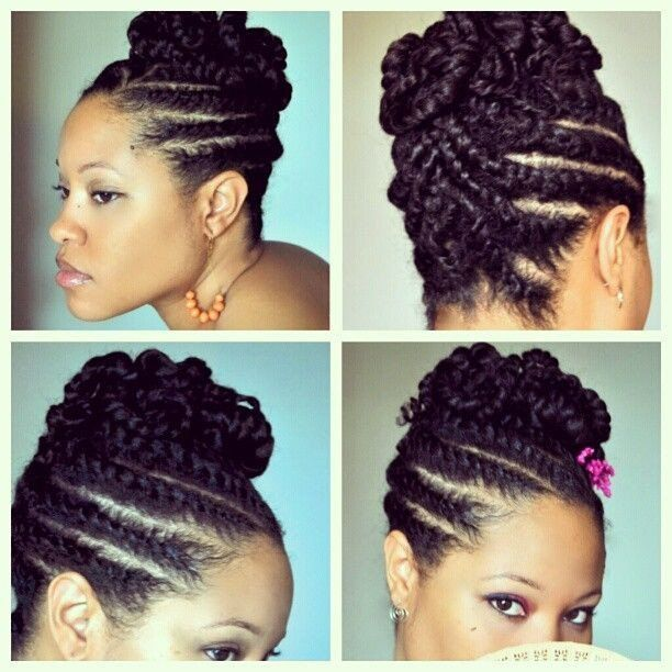 20 Natural Hair Styles That Are Professional For The Workplace Natural Hair Twists Natural Hair Twist Out Twist Hairstyles