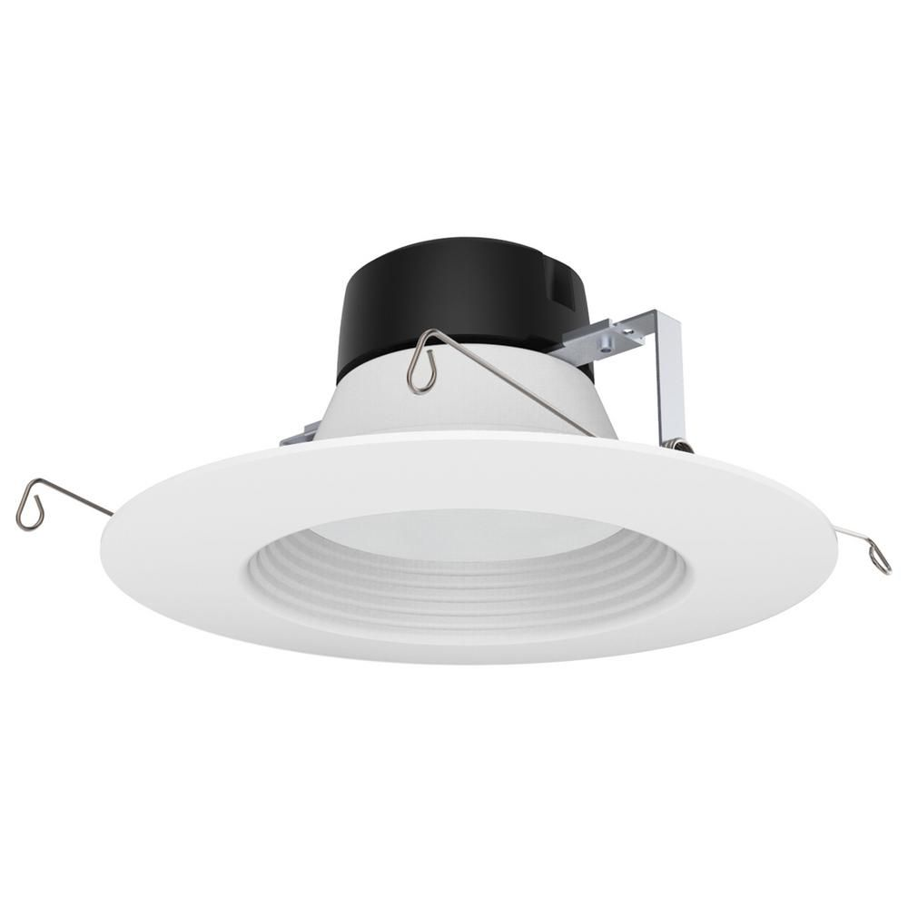Halco Lighting Technologies ProLED 6 In. White Integrated LED Recessed Trim