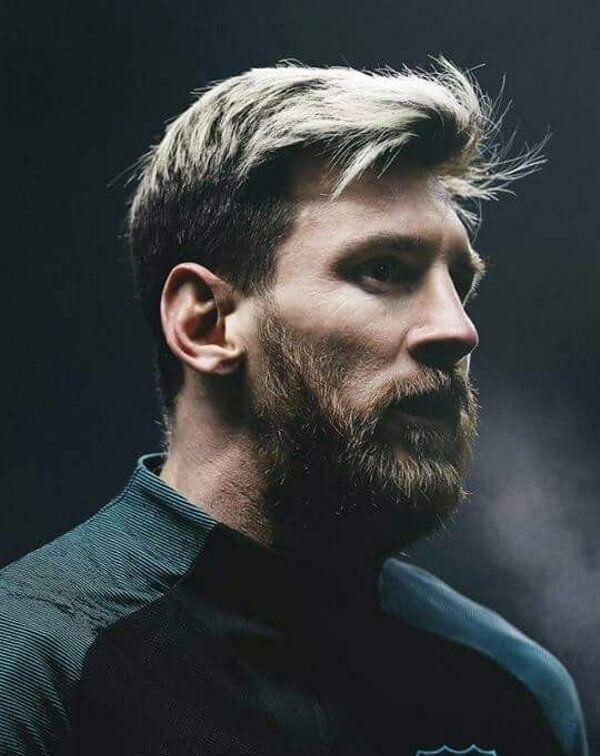 fußballer frisuren: lionel messi | trend haare | männer frisuren