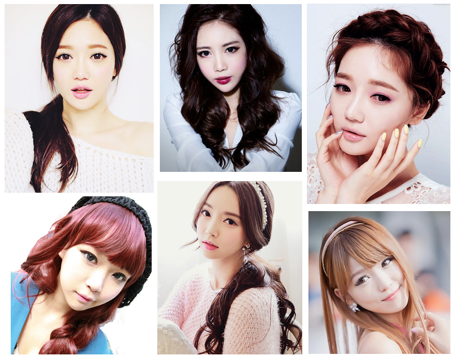 peinados coreanas | Proyectos que intentar | Pinterest ...