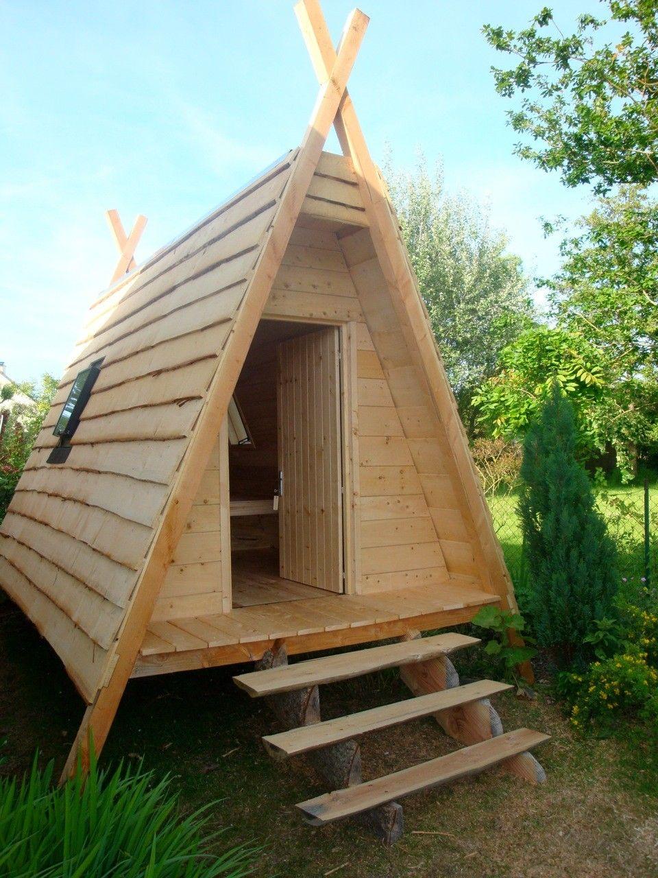 Galerie cabanes en bois alternative building cabane cabane bois cabane jardin - Petite maison en bois pour jardin ...