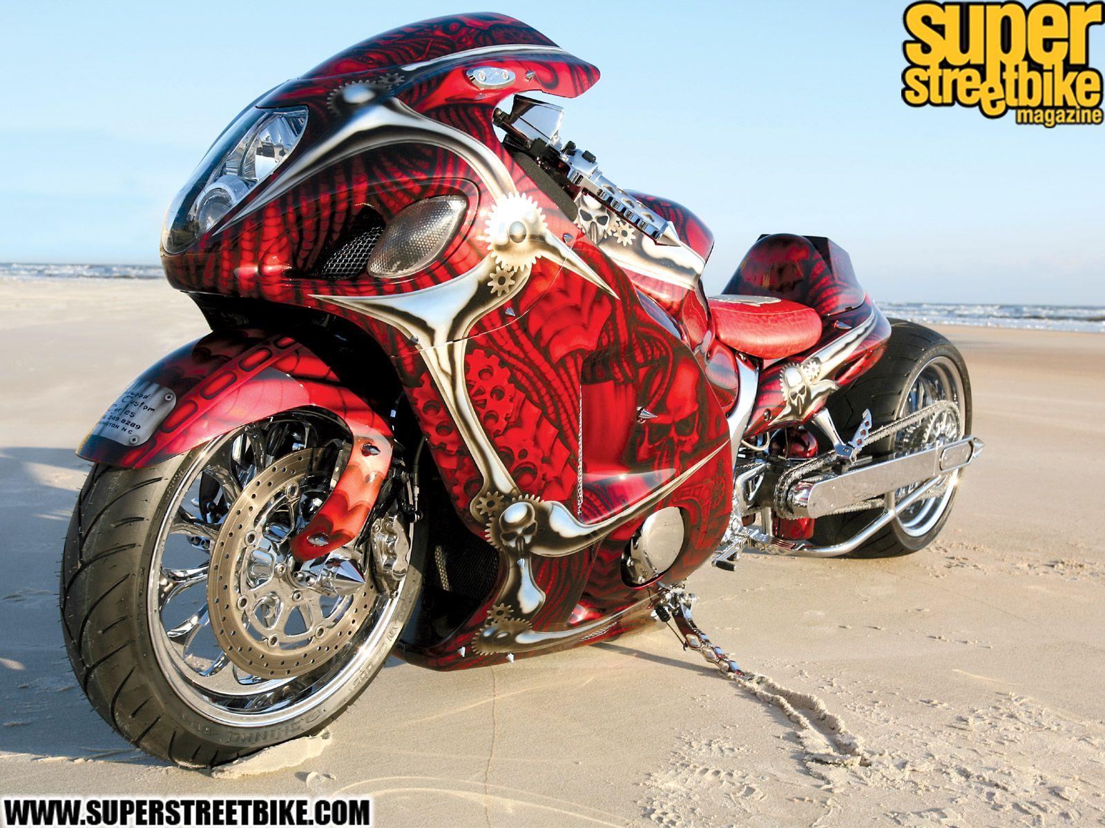 Custom motorcycle resume