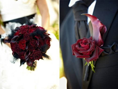 Dramatic Black and Red Wedding in Palos Verdes | Miki and Sonja Photography Blog