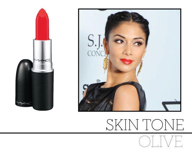 Lipstick For Olive Skin Tones  Olive Skin Tone, Best Red -2651