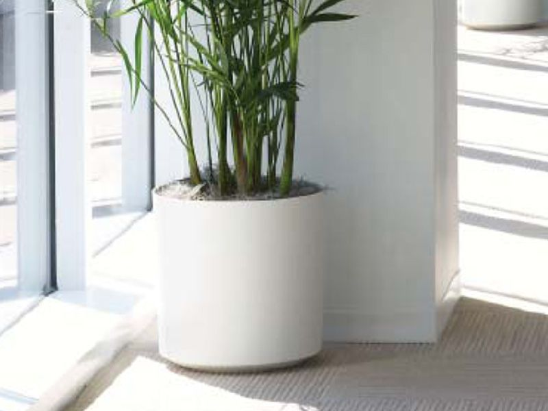 Eco-Friendly Ceramic - Cylinder Planter from Indoor Flower Pots 12 ...