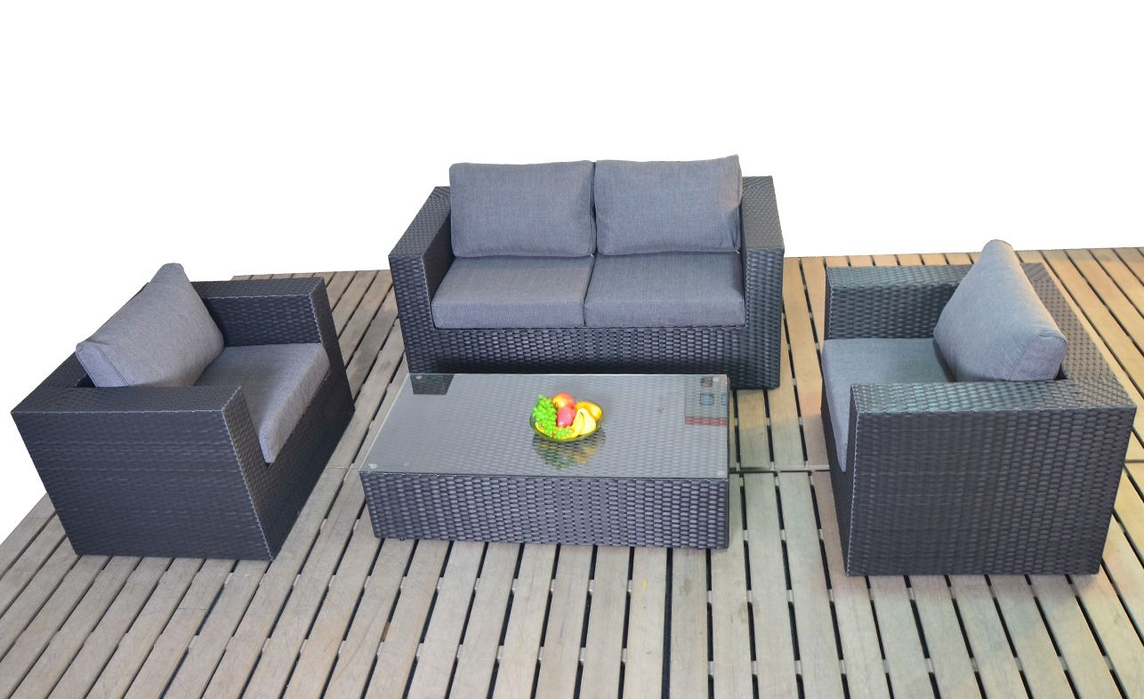 Marvelous Black 2 Seater Sofa Set With Coffee Table Commercial Dailytribune Chair Design For Home Dailytribuneorg