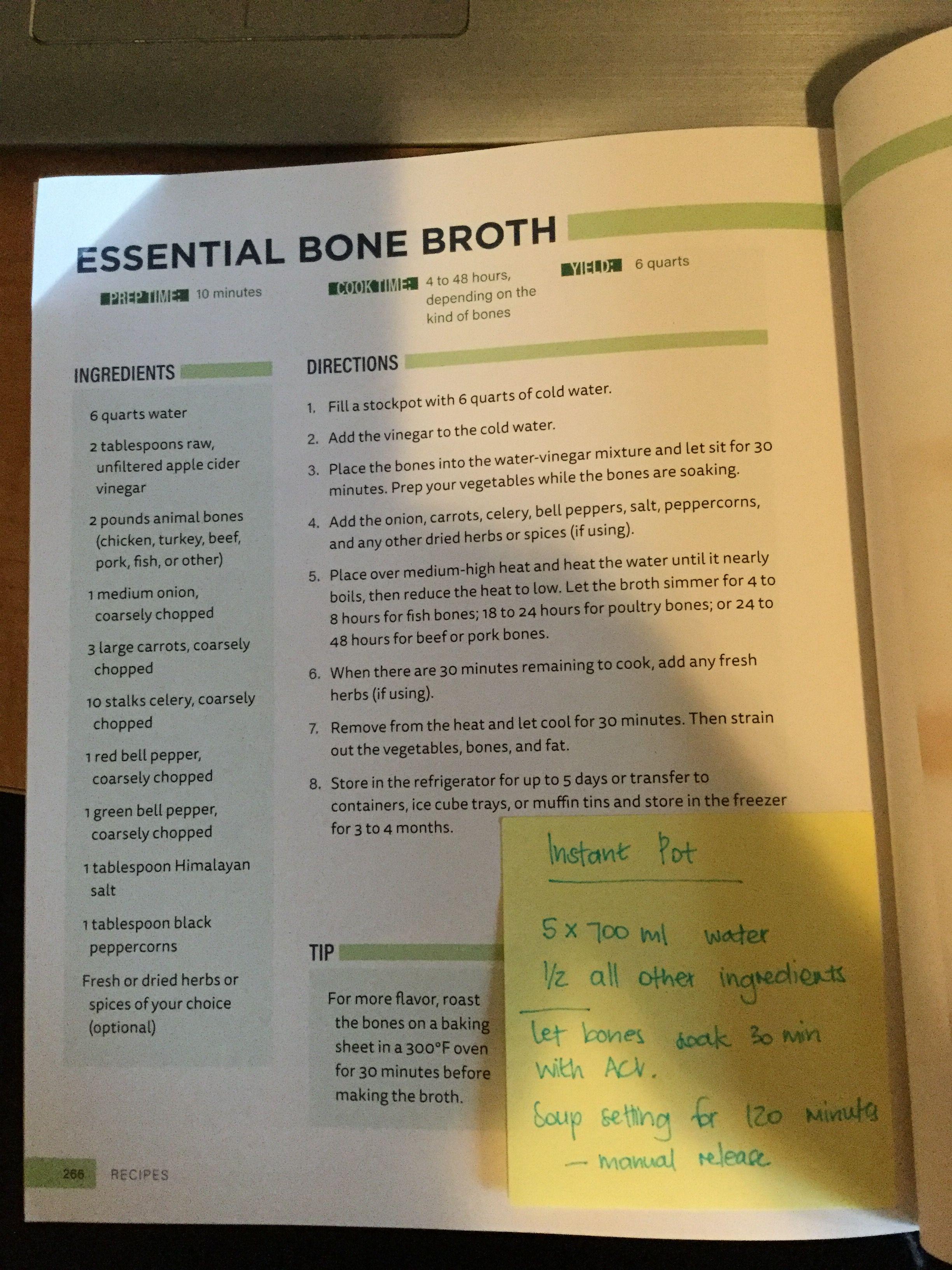 Bone Broth Diet Plan Pdf : broth, Jason, Recipes, Camnet