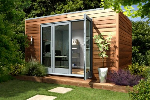 Awesome Backyard Shed Designs 9