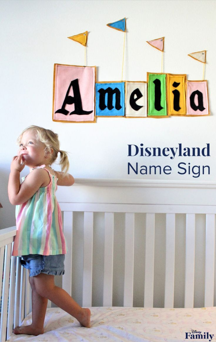 Bring the Magic of Disneyland into Your Kid's Room With This DIY