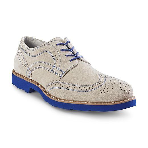 GBX Men's Grieves Chalk Lace-Up Oxford Shoe