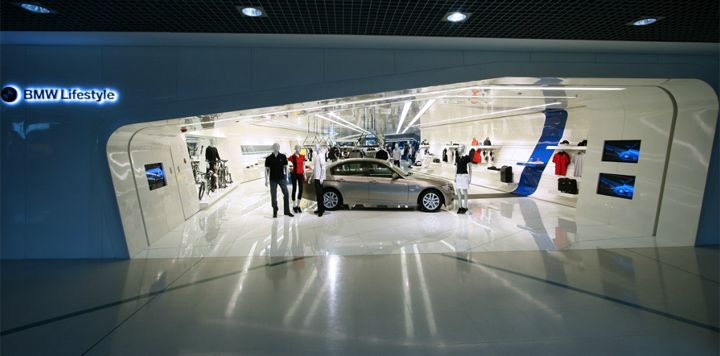 Bmw Lifestyle Store Beijing The Aim Was To Create A Store That