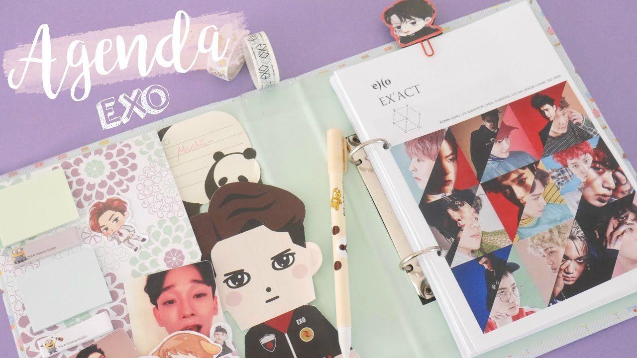 K-pop Kpop Exo Exact Album 2017 Desk Calendar Desktop Office Desk Supplies School Korean Style Calendar Notes K Pop Exo Home