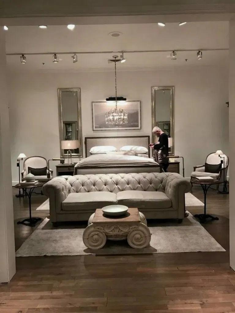 40 Romantic Bedroom Ideas For Him And Her Bedroom Interior Bedroom Deco Master Bedrooms Decor