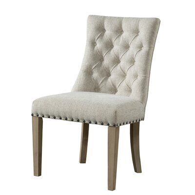 Gracie Oaks Schutz Upholstered Dining Chair Upholstered Dining