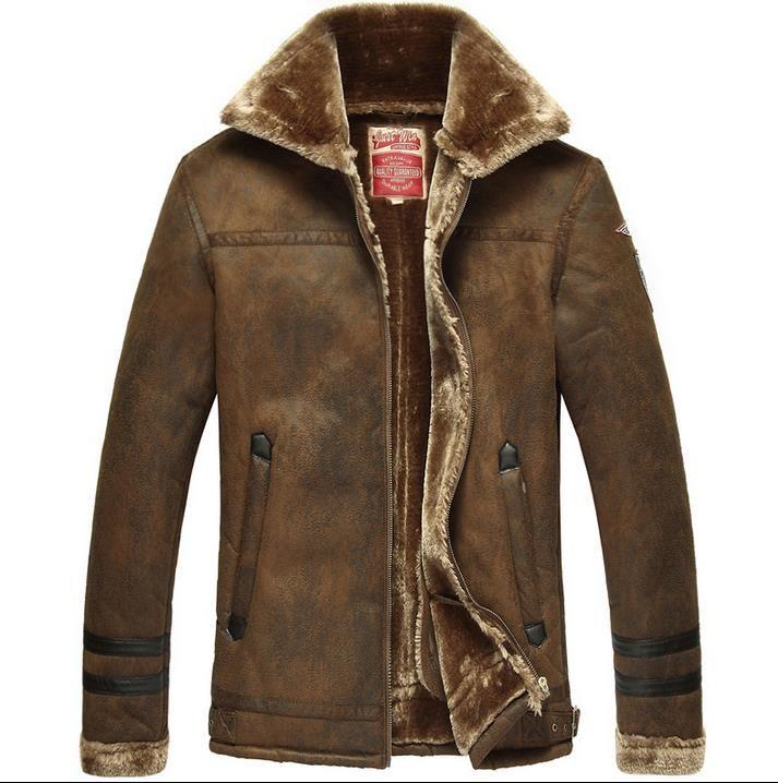 Men Fur Coat Winter 2016 Plus Size Faux Fur Coat Men Punk Parka ...