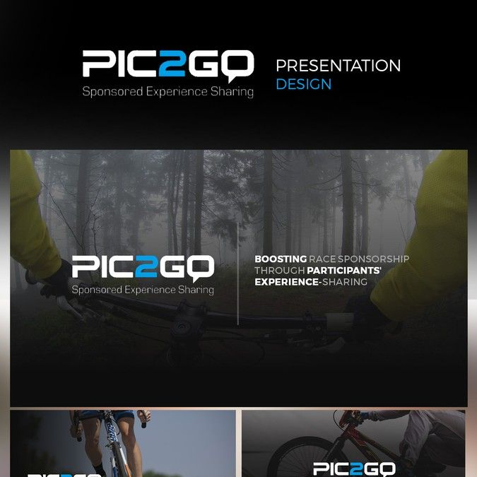 Modern Marketing Presentation For Sports Technology Brand By