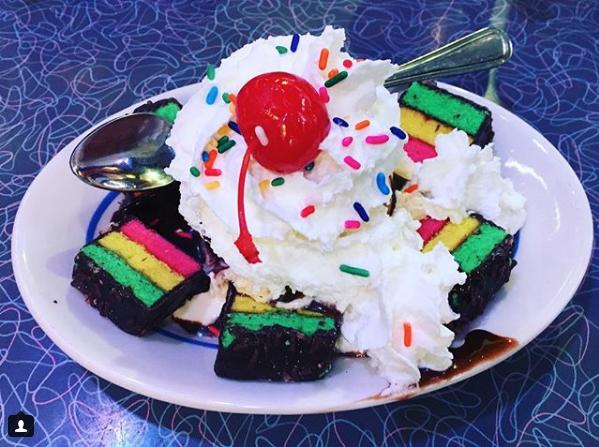 Rainbow Cookie Sundae Please Sir I Want Some More