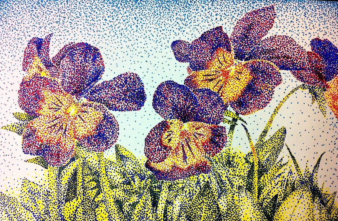 Images For Gt Easy Pointillism Art With Images Pointalism