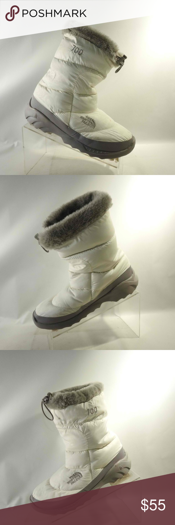 87a07e2a4 The North Face 700 Sz8 White Boots Shoes For Women The North Face ...