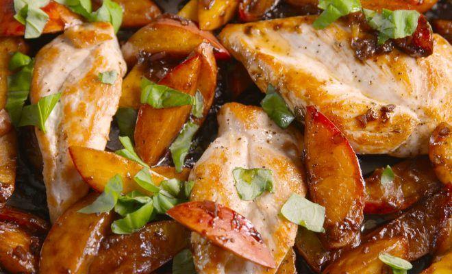 recipe: easy peach chicken recipe [25]