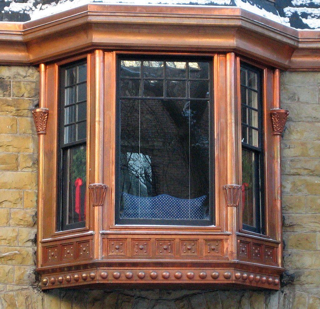 Portal Copper Window Copper Clad Bay Window In The Gold Co Flickr Copper House Bay Window Copper Roof