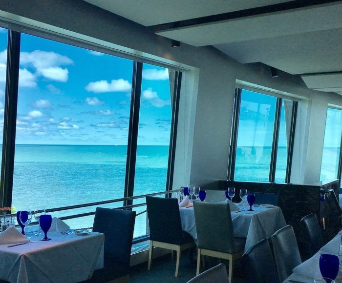 This Landmark Cleveland Area Restaurant Is Suspended Over Lake Erie To Give Customers A Cruise Like Dining Experience