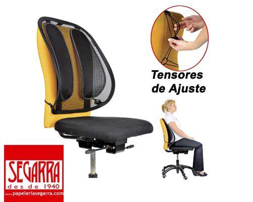 oferta respaldo ergonomico silla de oficina solo 29€ www ...