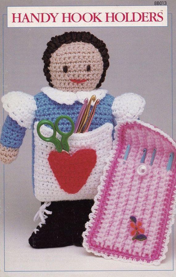 Handy Hook Holder Annies Attic Crochet Pattern Club Booklet 8b013