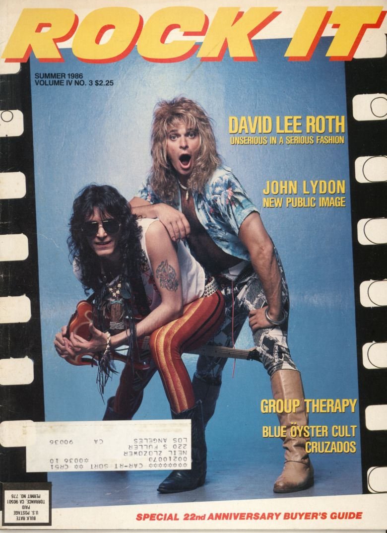 David Lee Roth And Steve Vai Steve Vai David Lee Roth Rock And Roll