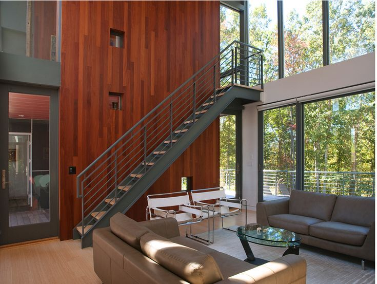 Love The Materials and Composition of This Modern Home - McInturff Architects #homedesign #homeinspo #designinspo  #archdaily #architectureinspo #moderhousedesign #dreamhouseideas  #dreamhouse #customhousedesign #bestarchitect #besthousedesign #exterior