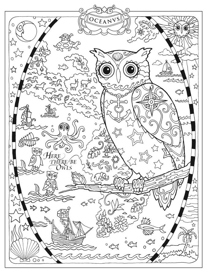 Welcome to Dover Publications✖️Adult Coloring Pages➕More Pins ...